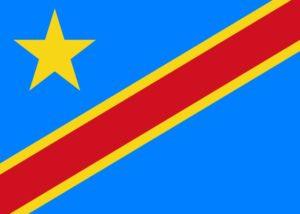 Drapeau Rép Dém du Congo