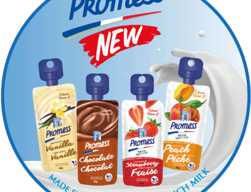 Promess Dairy snacks in Pouch range
