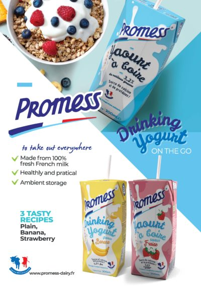 Promess Flavoured Drinking yogurt