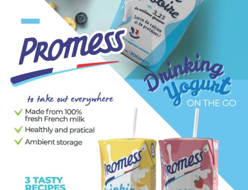 F&D article – Promess Drinking Yogurts